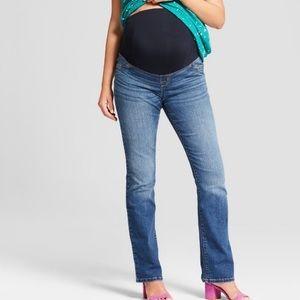 Isabel Maternity Boot Cut Jeans